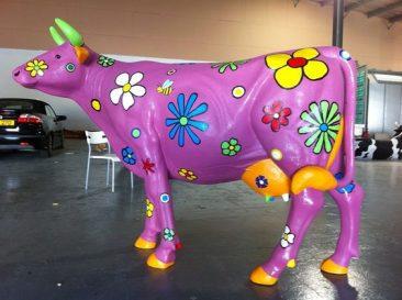LINE-X prop cow