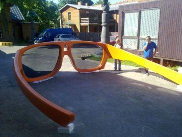 LINE-X large sun glasses