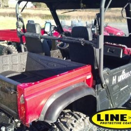 quad load area protected with LINE-X