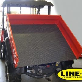 quad load bed protected with LINE-X