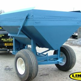 spreader restored and protected with LINE-X