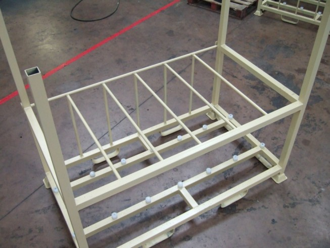 stillage before coating with LINE-X