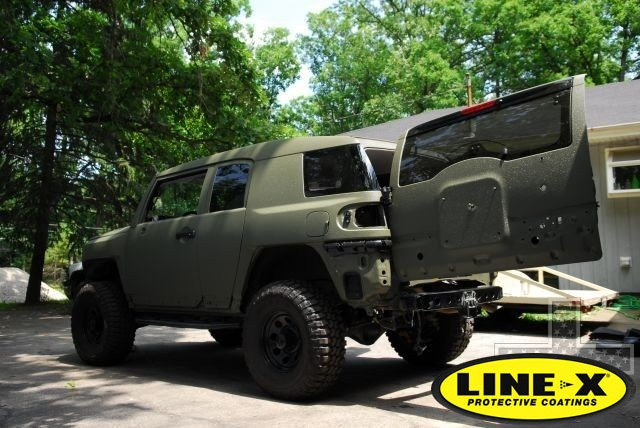Land Rover Huntsville >> 4x4 LINE-X Gallery | LINE-X UK