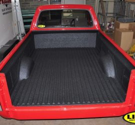 VW Caddy Pick-up with LINE-X Bedliner
