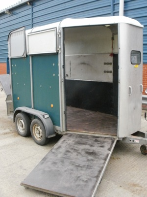 LINE-X Norfolk Horse Box Before