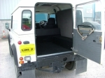 Land Rover with Hard Top and LINE-X Load Liner