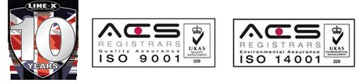 LINE-X-10th-Anniversary-UK-logo