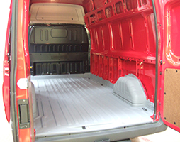 LINE-X Van Lining Floor and wheel arches