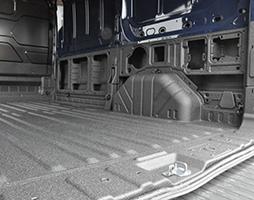 LINE-X Van Lining Floor half sides