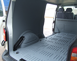 LINE-X Van Lining Full Encapsulation
