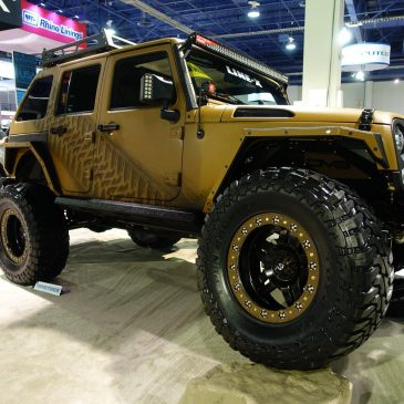"3D LINE-X – 2015 JK Unlimited Rubicon ""Vision Jeep"""