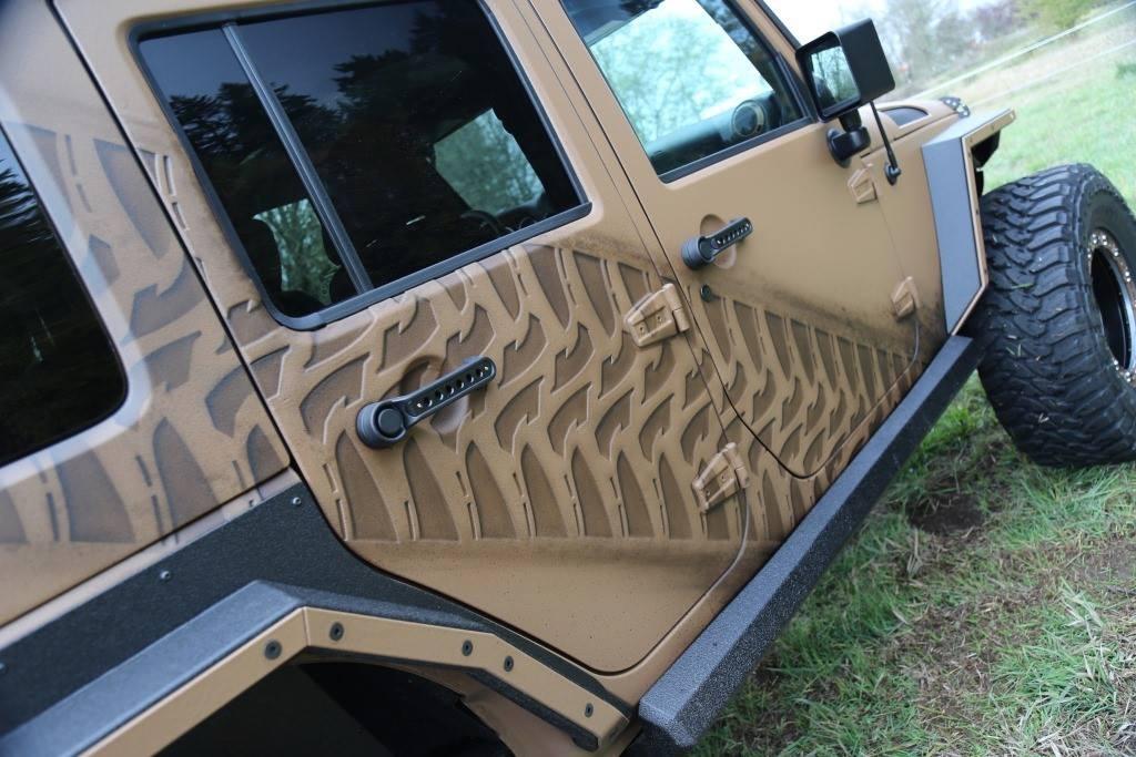 LINE-X 3D Jeep
