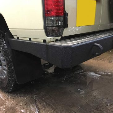 Custom Built Bumper for Land Cruiser