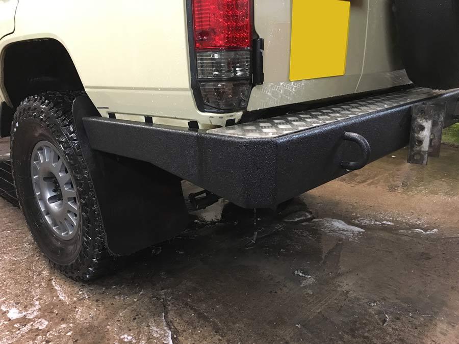 Custom Built Bespoke Bumper for a Landcruiser