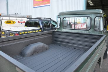 LINE-X Defender Long Load Bed