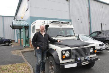 Land Rover Magazine Editor Gets Bonnet LINE-X'd