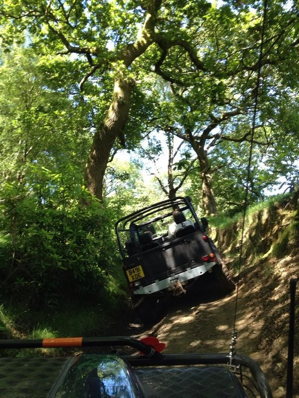 Here is a great pic of a LINE-X Defender in Action by Twitter user @Muzza