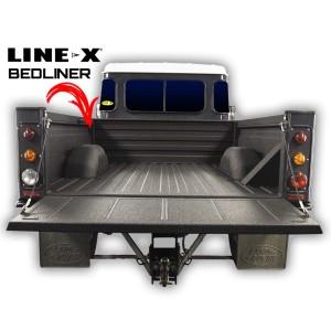 Land Rover LINE-X абарона кузава