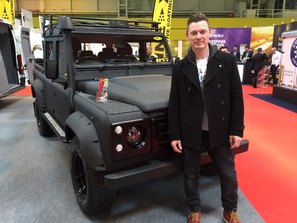 LINE-X Defender eies av Richard Jones fra Stereophonics