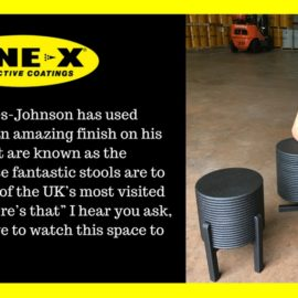LINE-X used by Designer Will Yates-Johnson