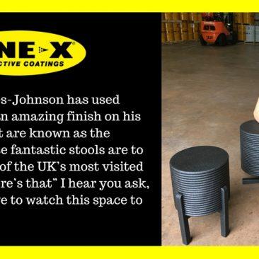 LINE-X used by Designer Will Yates-Johnson