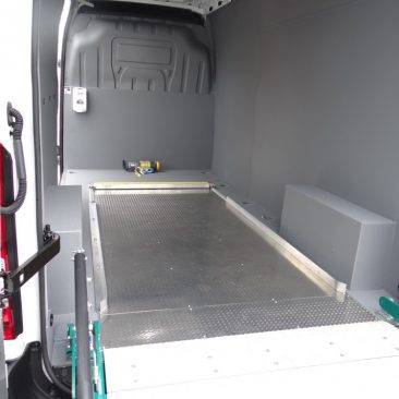 LINE-X Bristol Provide Antimicrobial Van Lining for TGS