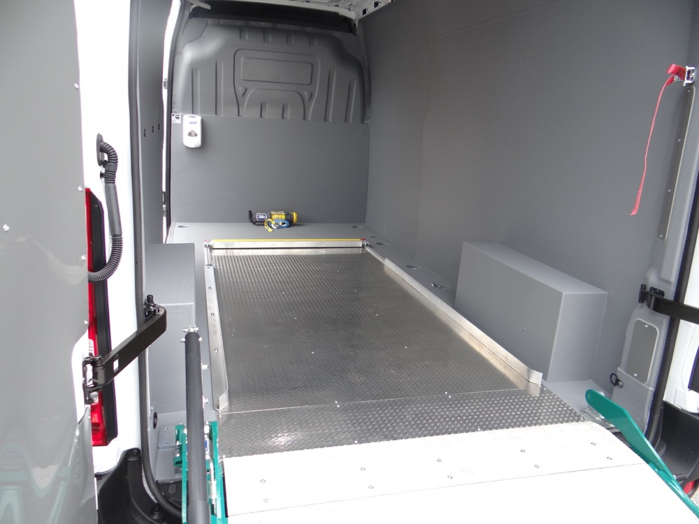 LINE X Bristol Provide Antimicrobial Van Lining For TGS