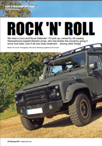 Rock 'n' roll - LINE-X Feature 4x4 Magazine
