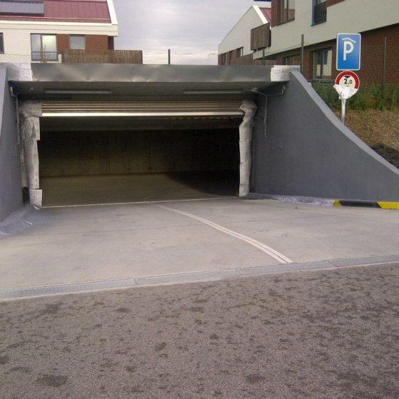 line-x outer car park