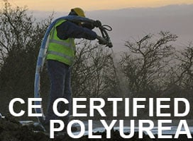 LINE-X Launch CE Certified Pure Polyurea