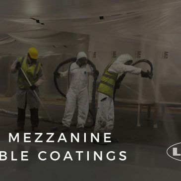 HIGH PROTECTIVE STEEL COATINGS FOR MEZZANINE FLOOR